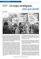EDF : Un enjeu stratégique,  plus que jamais