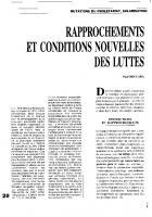 Mutations du prolétariat, salarisation et révolution informationnelle. Rapprochements et conditions nouvelles des luttes.