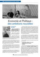 50 eme anniversaire Economie et Politique : Débat n°3