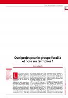 Quel projet pour le groupe Verallia et pour ses territoires ?
