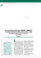 Accord de principe AGIRC ARRCO