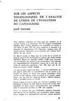 Lénine et les aspects  sociologiques de  l'évolution du capitalisme. Octobre 1970