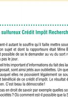 Le sulfureux Crédit Impôt Recherche (CIR)