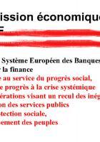 La BCE, le Système Européen des Banques Centrales, l'euro pour la finance