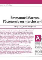 Emmanuel Macron, l'économie en marche arrière (1)