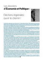 Dossier Elections régionales 2015
