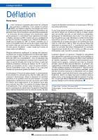 Déflation - Chronique de Pierre Ivorra