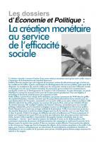 Création monétaire  Mai-Juin 2014