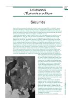 Dossier Sécurités