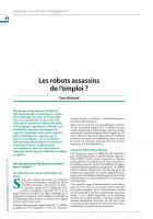 Les robots assassins de l'emploi?