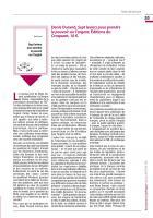 Denis Durand, Sept leviers pour prendre le pouvoir sur l'argent, (Note de lecture) Editions du Croquant, 10 €.