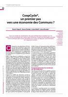 CoopCycle, un premier pas vers une économie des Communs