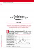 Mondialisation : mais que font les banques centrales ?