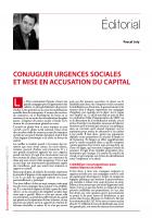 Conjuguer urgences sociales et mise en accusation du capital