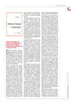 Libérons l'Europe. Le national-libéralisme est au bout du « modèle », Bruno Odent, éditions du Croquant, 2019.