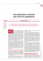 Une explication marxiste des crises du capitalisme