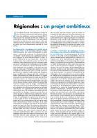 Régionales  : un projet  ambitieux et novateur pour battre la droite
