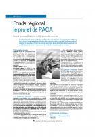 Fonds régional : le projet de PACA
