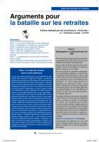 Retraites, Fiche8:Réformedufinancement:lespropositionsduPCF