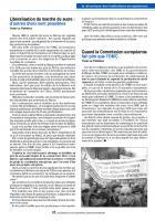 Libéralisation du marché du sucre : d'autres choix sont possibles