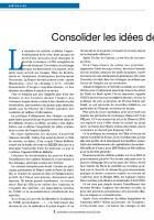 Consolider les idées de transformation sociale