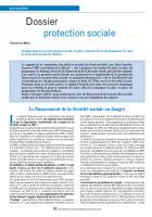 Dossier protection sociale