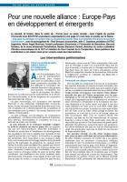 POUR UN AUTRE MONDE : CRÉDIT, EMPLOI ET FORMATION EN COOPÉRATION