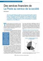 Des services financiers de La Poste au service de la société