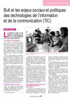 Bull et les enjeux sociaux et politiques des technologies de l'information  et de la communication (TIC)