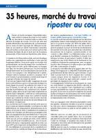 35 heures, marché du travail: riposter au coup de force de Sarkozy