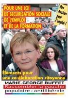 Pour une loi de sécurisation sociale de l'emploi et de la formation -Eléments pour une co-élaboration citoyenne-