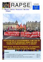 Lettre n° 109 du 13 mars 2013