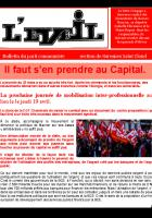 Journal de la section de Suresnes Saint Cloud : Il faut s'en prendre au Capital (Luttes, SNCF, logement social)