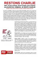 TRACT - RESTONS CHARLIE