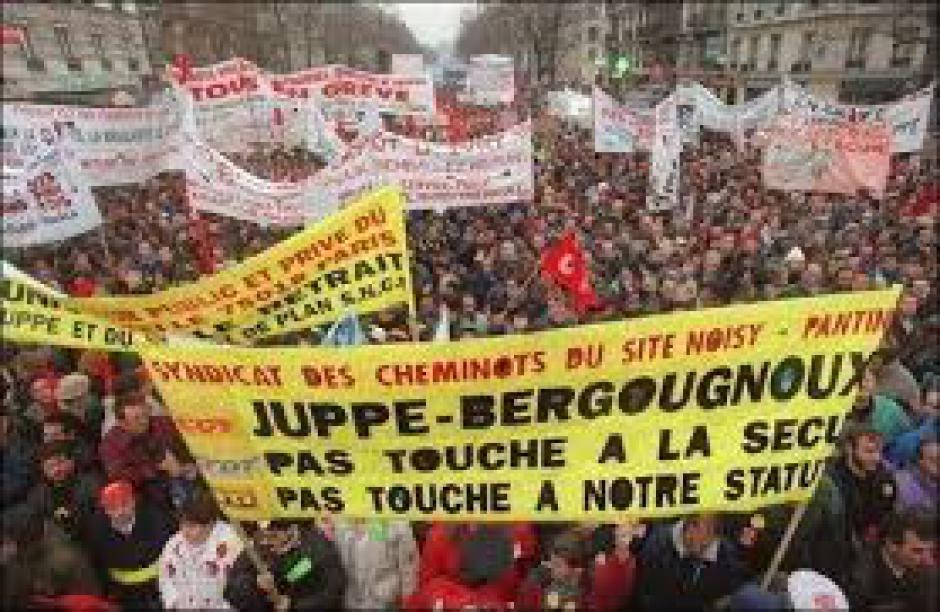 20 éme anniversaire des grèves de 1995
