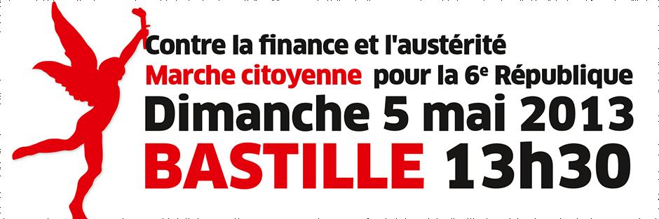 Signez l'appel à la marche citoyenne du 5 mai pour la 6e République