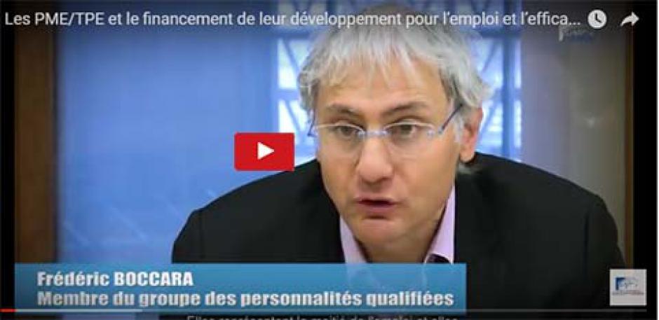 Les PME/TPE et le financement de leur développement pour l'emploi et l'efficacité - cese