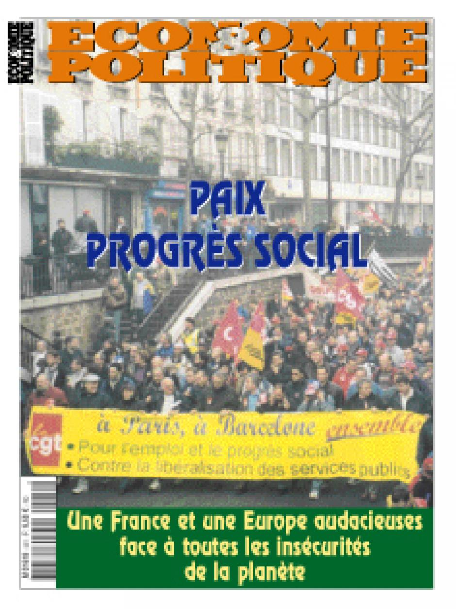 Economie et Politique de Novembre-décembre 2002
