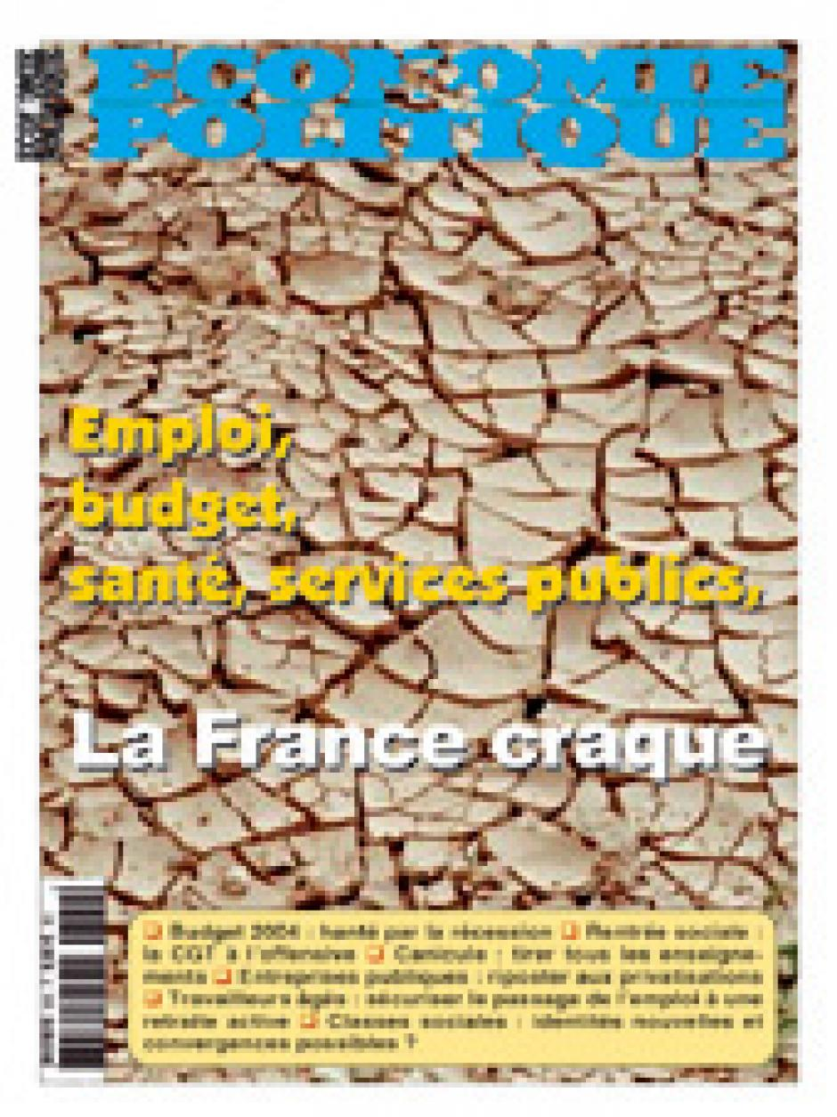 Economie et Politique Juillet-Août 2003