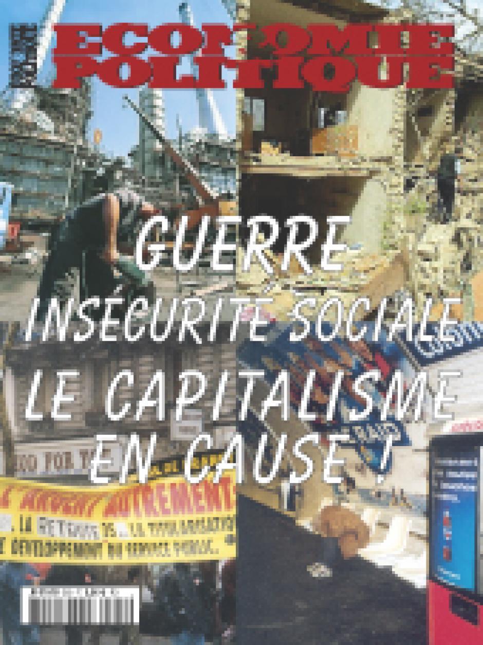 Economie & Politique - Janvier-Février 2003