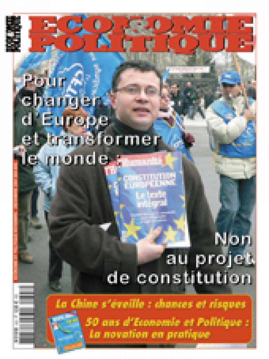 Economie & Politique de novembre décembre 2004