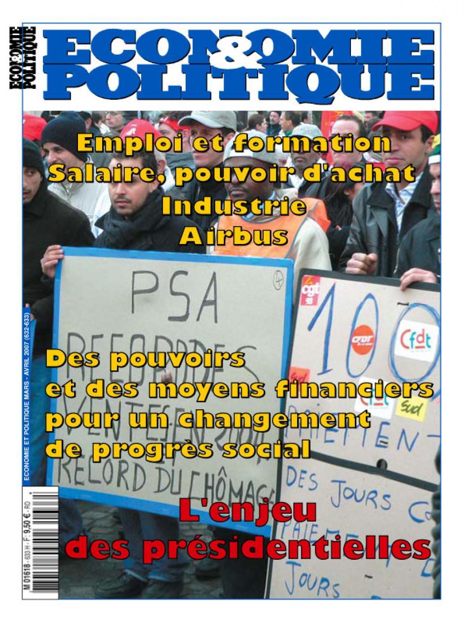 Economie & Politique de mars-avril 2007