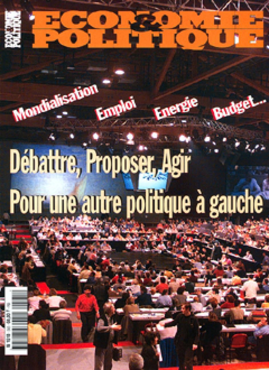 Economie & Politique juillet-août 2001