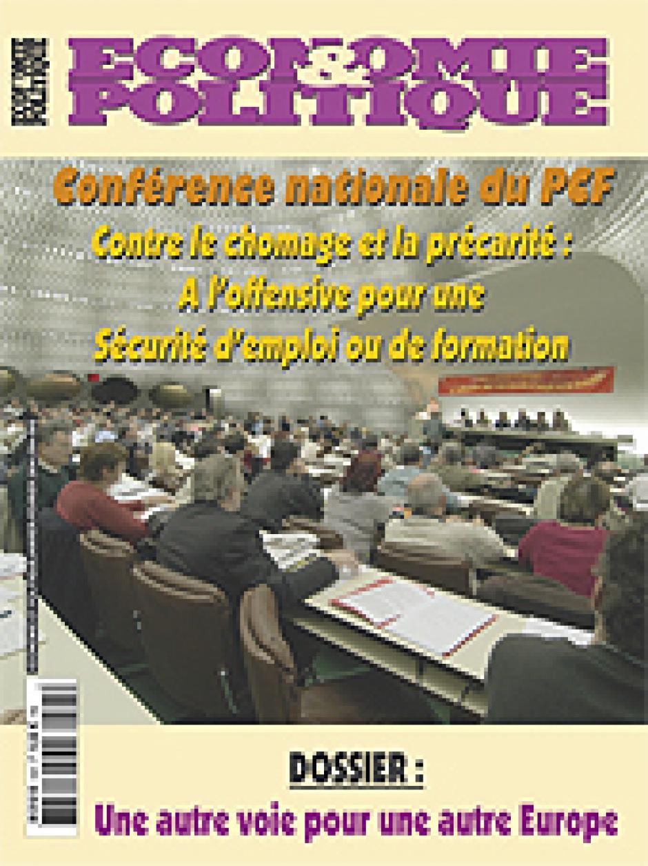 Economie et Politique de janvier-février 2004