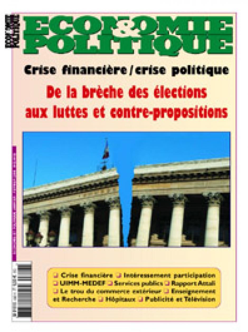 Economie & Politique de janvier-février 2008