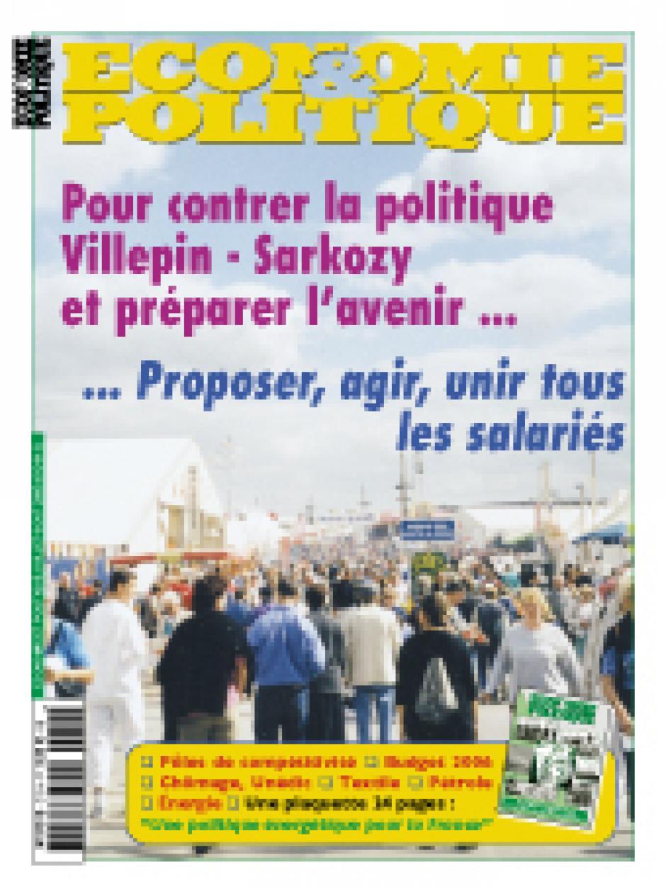 Economie & Politique Juillet-aout 2005