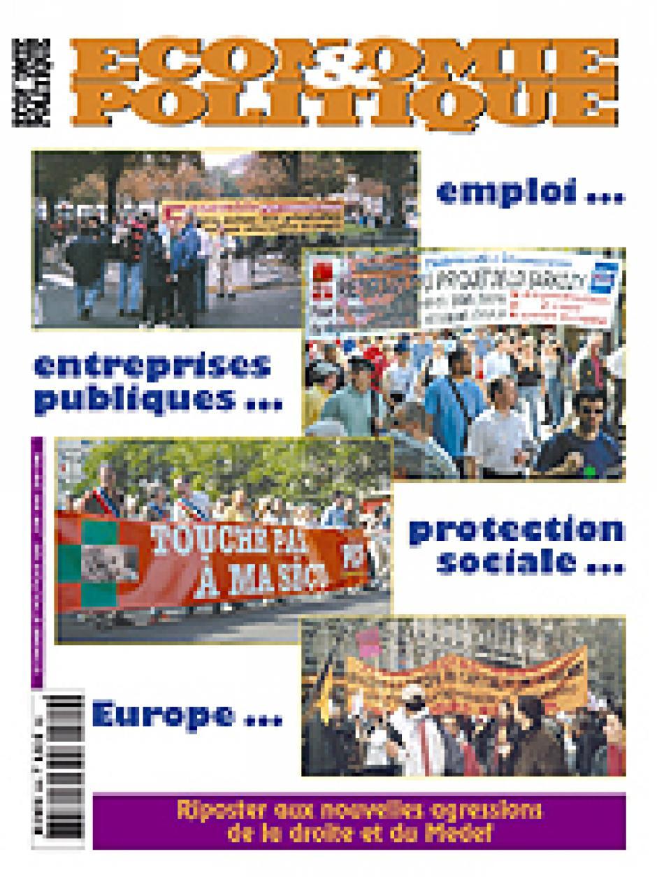 Economie & Politique de mai-juin 2004