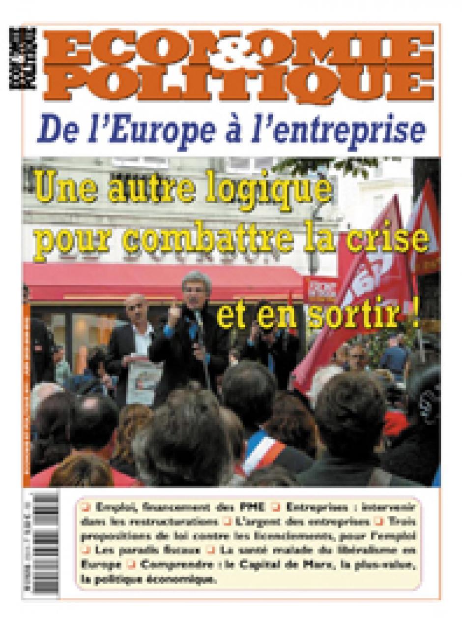 Economie & Politique de mai-juin 2009