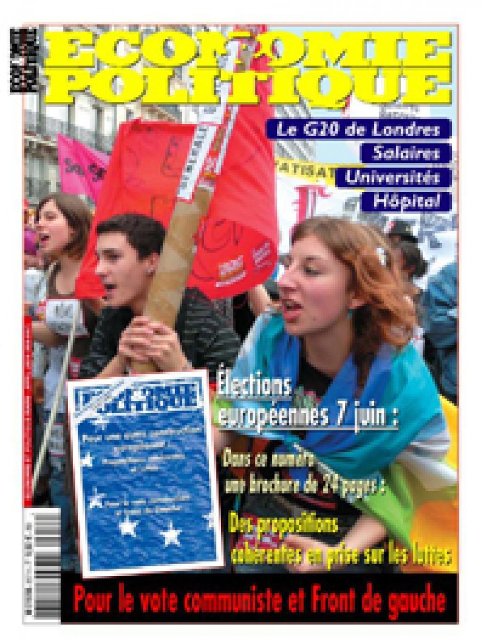 Economie & Politique de mars-avril 2009