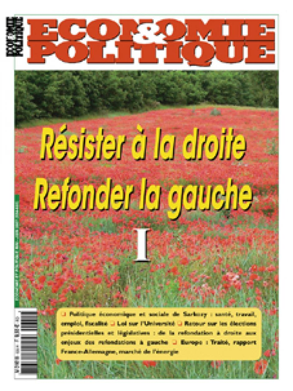 Economie & Politique de mai-juin 2007